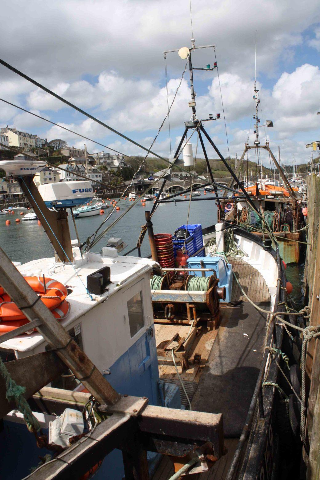 Looe fishing boats