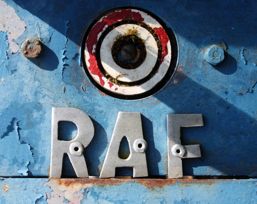 RAF font of the week
