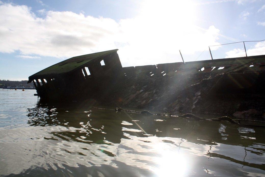 Hamoaze wreck 1