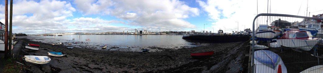 Torpoint ferry beach